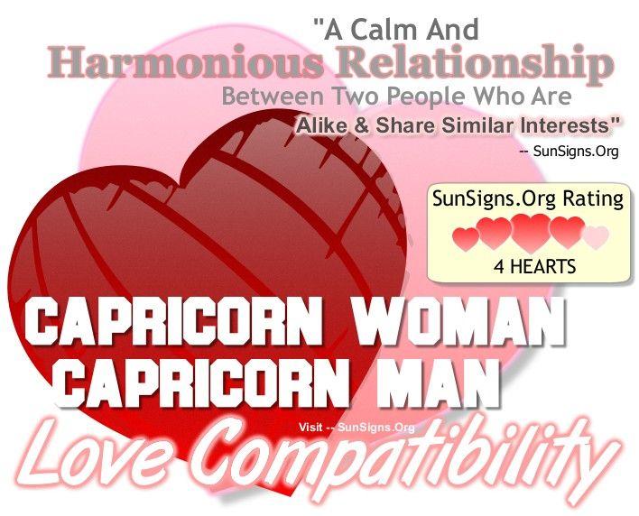 Capricorn Woman And Capricorn Man - A Calm And Harmonious Match | SunSigns.Org