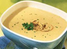 Velouté d'oignons rissolés - Onion parsley soup. Recipe is in French