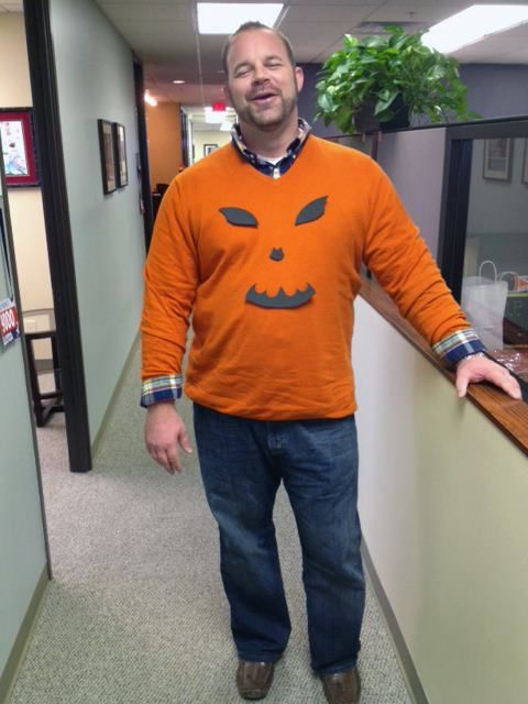 creative halloween costume for the office pumpkin jack o lantern - Halloween Costume For Work Ideas