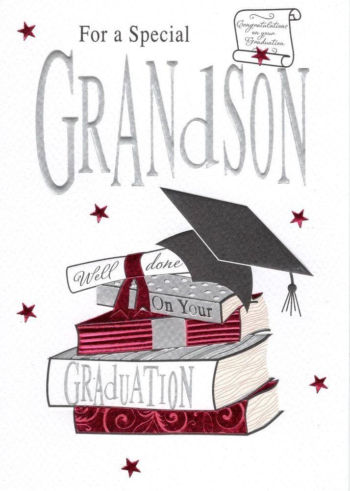Grandson Graduation Greeting Card Second Nature ...