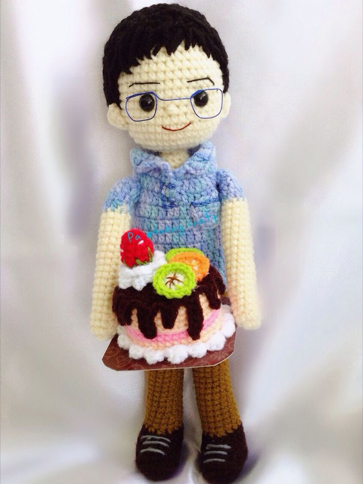 Free Amigurumi Boy Doll Patterns : 1000+ images about ? Crochet Boy Dolls ? on Pinterest ...