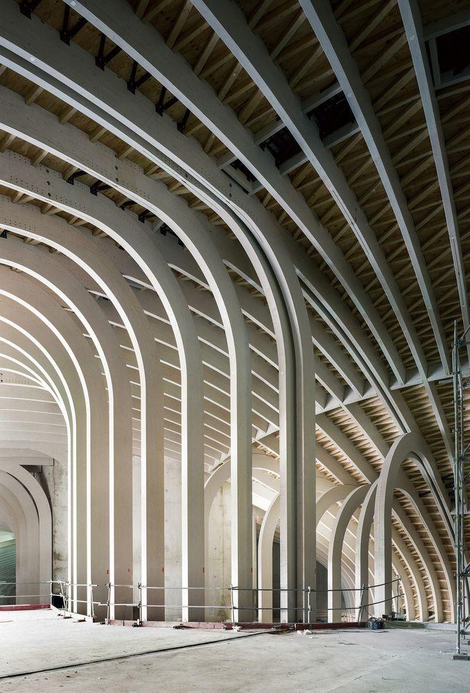 Architecture Modern Design Cite Du Vin Patrick Tourneboeuf