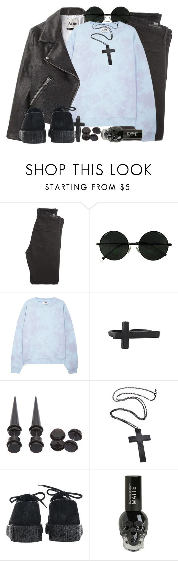 """""""1263"""" by anastaziah2014 ❤ liked on Polyvore featuring Citizens of Humanity, Acne Studios, Forever 21 and Underground"""