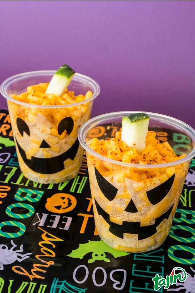 Little corn cups for you Halloween Party. easy and delicious