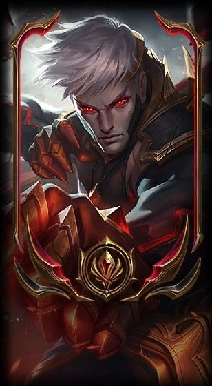 Conqueror Varus Loading Screen & Special Border! Lendas