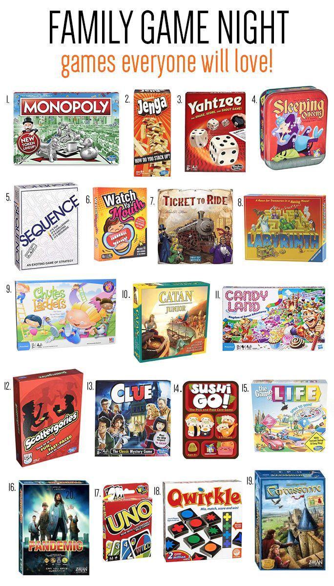 Favorite Board Games Everyone Will Love Fun Family Game Night Ideas Making Lemonade Favorite Board Games Best Family Board Games Family Games