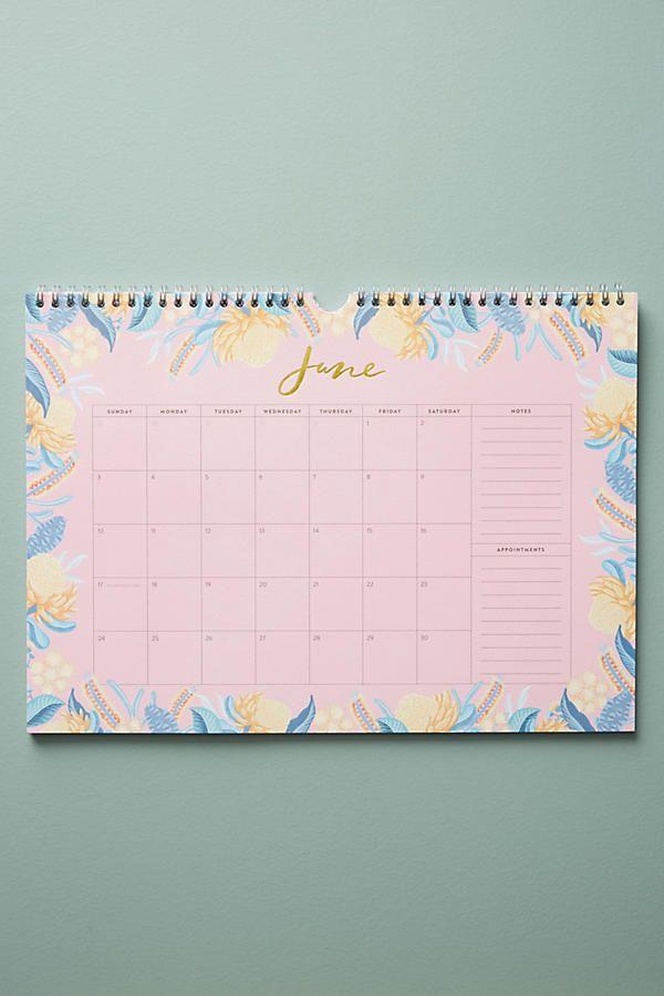 Slide View: 4: Wildflower 2018 Appointment Calendar