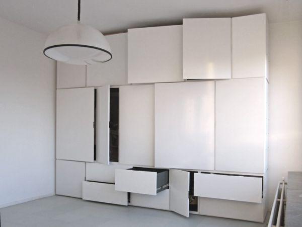 the minimalist witjes wall storage system - Wall Storage Systems Bedroom