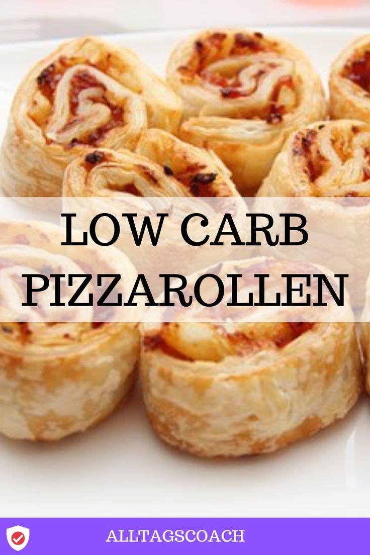 Low carb Pizzarollen Rezept