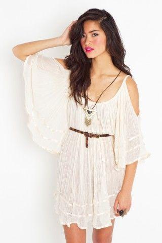 boho (via @Margaretehzw498 ): Fashion, Style, Clothing Dresses, Boho Dresses, White Summer Dresses, Nena Tunics, Bohogirl Skirts, Pretty, Boho Girls Skirts