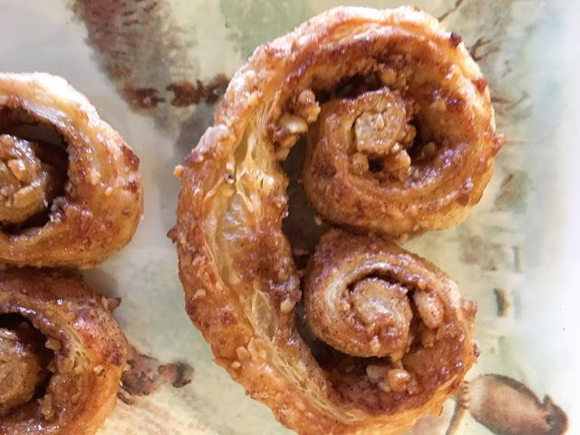 Palmiers, French Puff Pastry Hearts - mysavoryspoon