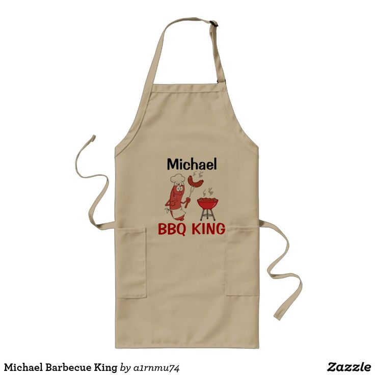 Michael Barbecue King Long Apron