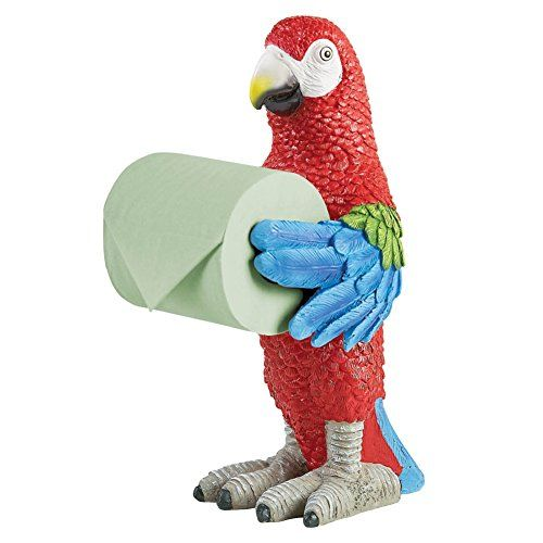 Tropical Parrot Toilet Paper Holder ** You can find more details by visiting the image link.