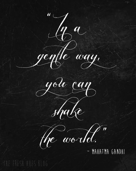shake the world with who you are...share your story of recovery. Bring someone into the light, as it was done for you. Shake this world you live in!