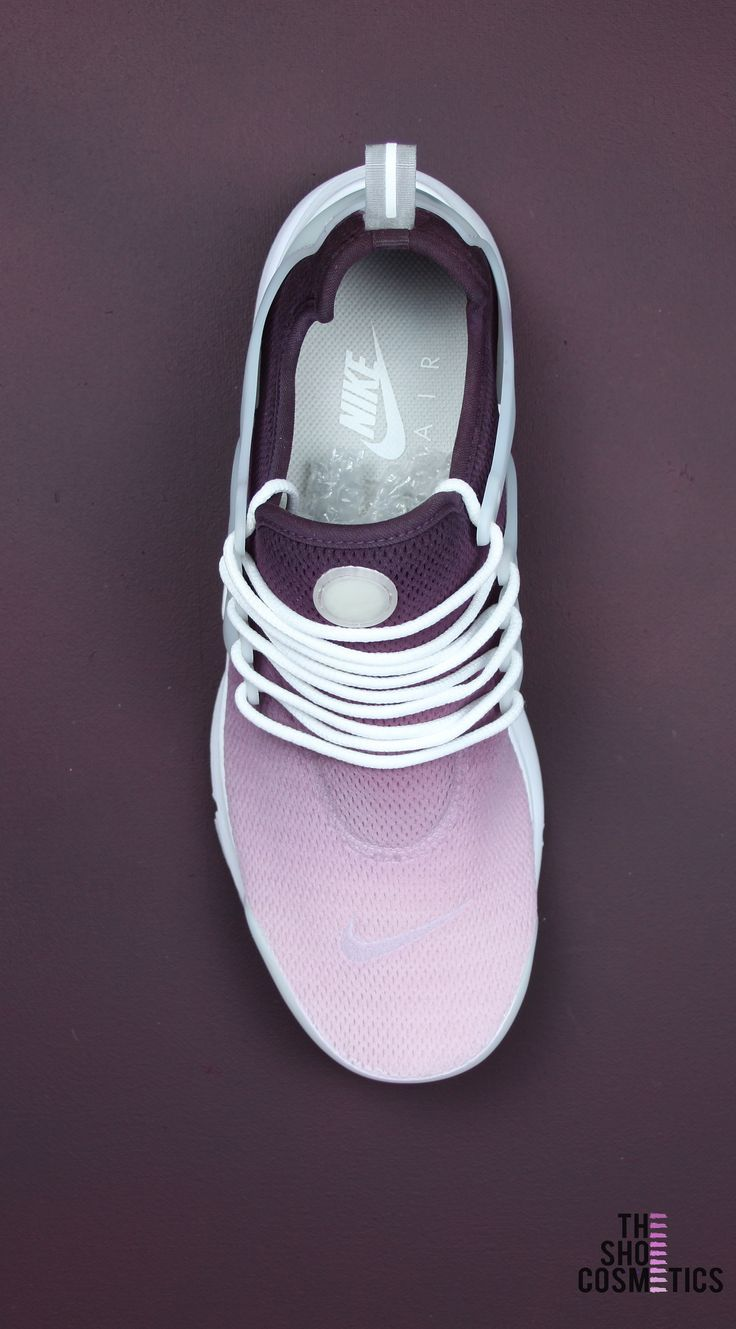 size 40 23b6d 7b333 Looking for Maroon Nike shoes  Introducing our custom ombre Nike air presto  womens shoes. Our cute custom nike shoes are perfect for standing out from  the ...