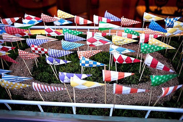 kentucky derby seating flags