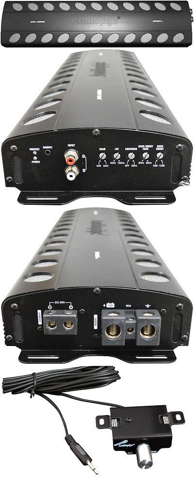 Other Car Electronics Accs: New Audiopipe Class D Monoblock Car Audio Amplifier 3000W Max -> BUY IT NOW ONLY: $407.99 on eBay!