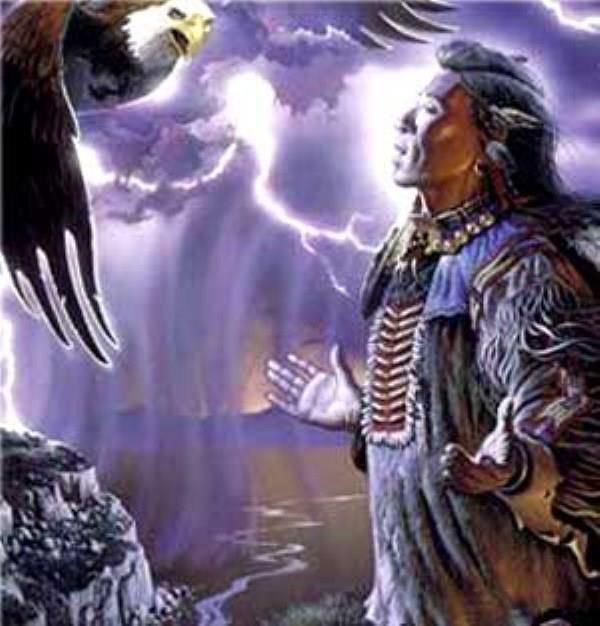 Warriors Path State Park Pennsylvania: Eagle, The Holy Path Of True Love With Native American