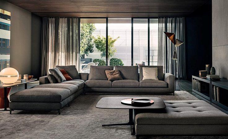 minotti m bel minotti m bel pinterest wohnzimmer. Black Bedroom Furniture Sets. Home Design Ideas