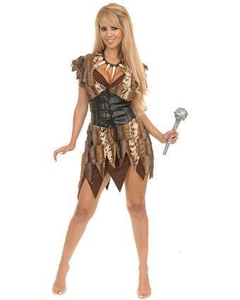 Adult Cavewoman Costume | Womens Cavewoman Halloween Costumes