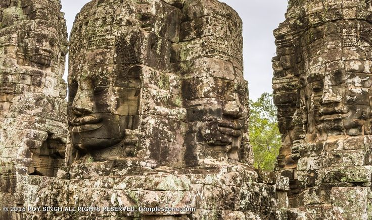 The buildings at Angkor Thom city are quite impressive. Some people like Angkor Thom city more than Angkor Wat because some of the features are more interesting like the stone heads of the smiling king. Around it is the remnant of a moat that was once filled with crocodiles to deter attackers.
