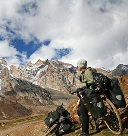 På cyklerne i Zanskar, som Dalai Lama har udtalt er 'vitalt for den tibetanske buddhismes overlevelse.'