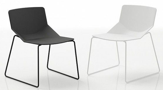 Modern Chair Design by Area Declic... Inspirational design