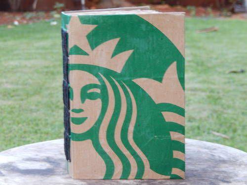 Starbucks Журнал - бумажные игрушки, скрапбукинг и ATCS (исполнитель торговые карты)
