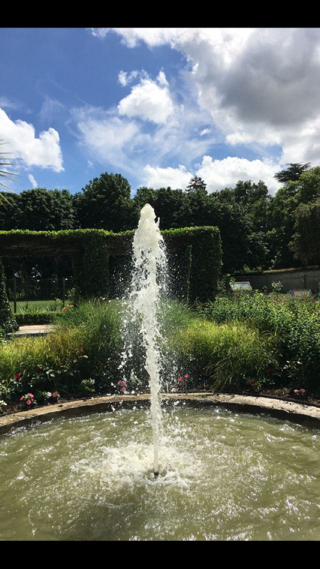 And of course a fountain!