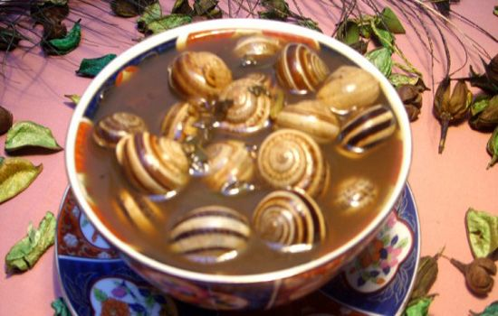 Cuisine Marocaine _ Escargots à la marocaine