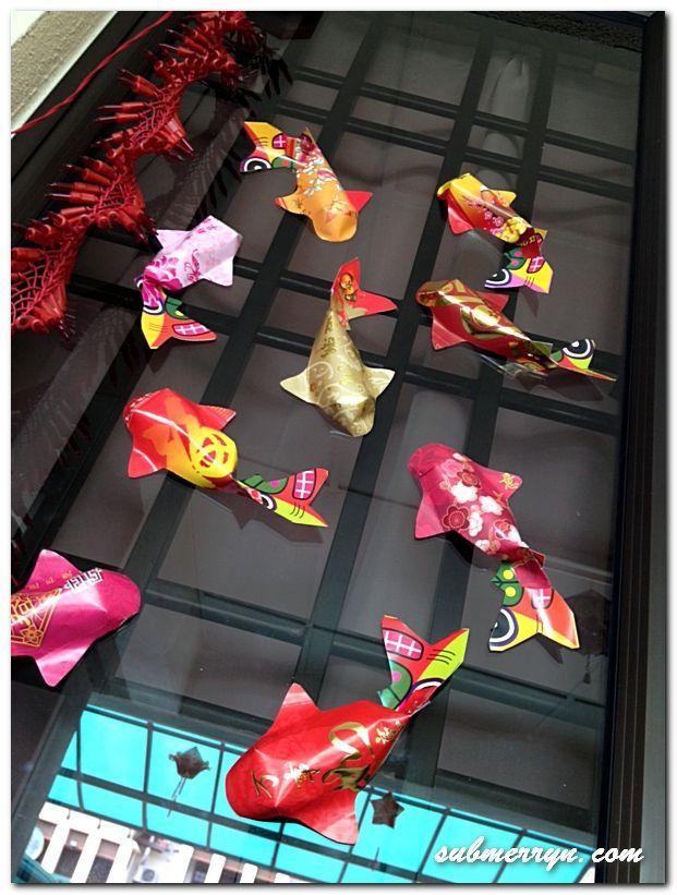 Petits poissons en papier faciles à faire