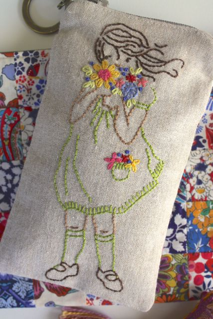Bloom | stitchery design by Sarah Jane Studios