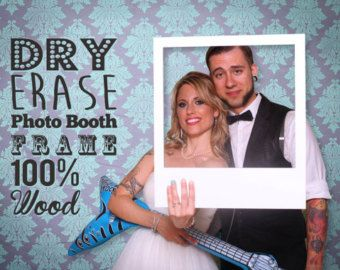 Photobooth Frame Dry Erase Photo Booth Prop. by PhotoBoothProp