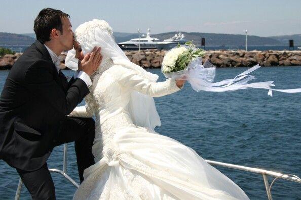 Love hijab wedding #PerfectMuslimWedding.com