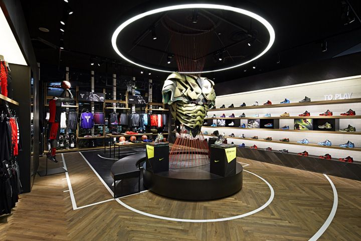 Nike Basketball shop by Specialnormal, Chiba – Japan » Retail Design Blog