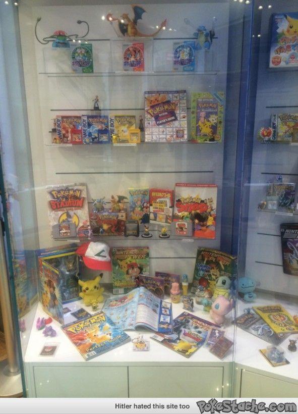 Nintendo World's Pokemon Display Case