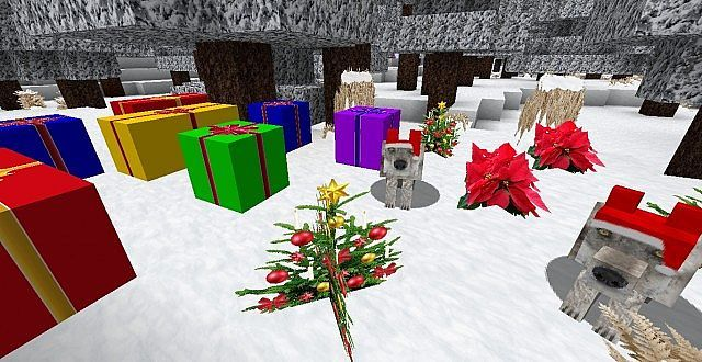 Zedercraft Christmas HD Resource Pack - minecraft resource packs : Zedercraft Christmas HD is a snowy, christmassy 256p realistic texture pack that ...  #resource #packs | http://niceminecraft.net/category/minecraft-resource-packs/