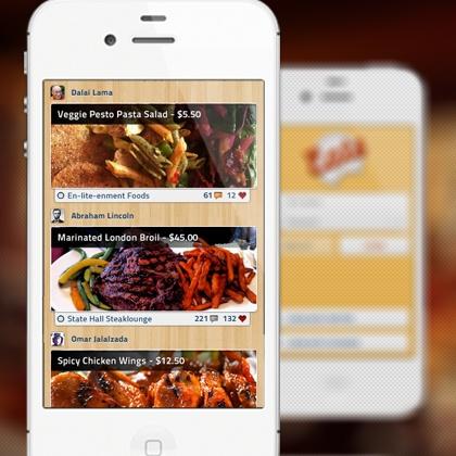 The Feed design by Omar Jalalzada. - Best Mobile Designers In The World   Scoutzie: Design Inspiration, Ui Design, Design Food Ui, Mobiles Ui, Feeding Design, Design Better, Profess Design, App Design, Mobile Design