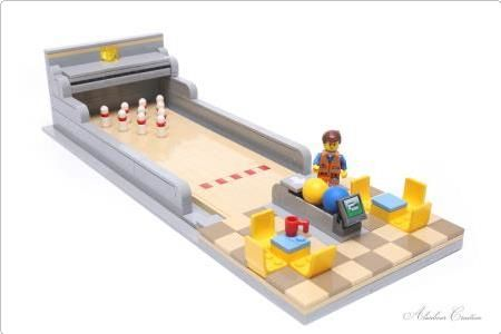 LEGO Bowling   ReBrick   From LEGO Fan To LEGO Fan