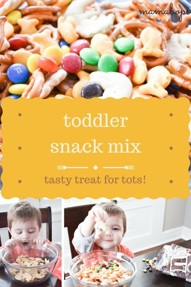 Toddler Snack Mix Recipe - Make this easy, customizable snack mix with your toddler! Your little one will love helping make their very own snack mix. Baby snack mix/toddler snack mix is perfect for a treat at birthday parties, too!