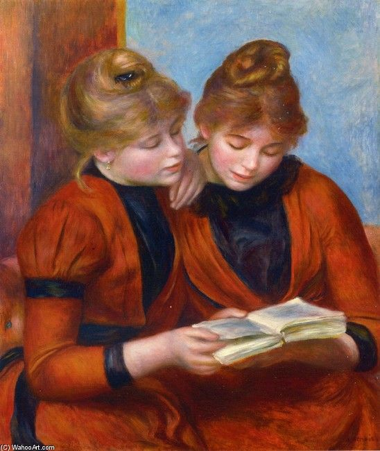 Two Sisters by Pierre Auguste Renoir