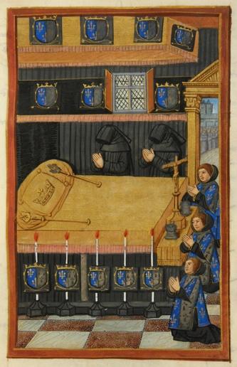 Récit de la mort et des funérailles de la reine Anne de Bretagne, en janvier 1514