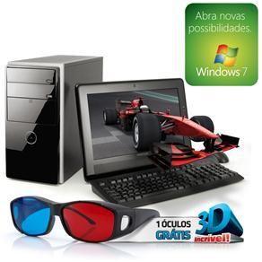 "Computador Positivo D2300 3D com Intel® Atom D525, 2GB, 500GB, Gravador de DVD e Windows 7   Monitor Positivo LCD 15,6"" - http://batecabeca.com.br/computador-positivo-d2300-3d-com-intel-atom-d525-2gb-500gb-gravador-de-dvd-e-windows-7-monitor-positivo-lcd-156.html"