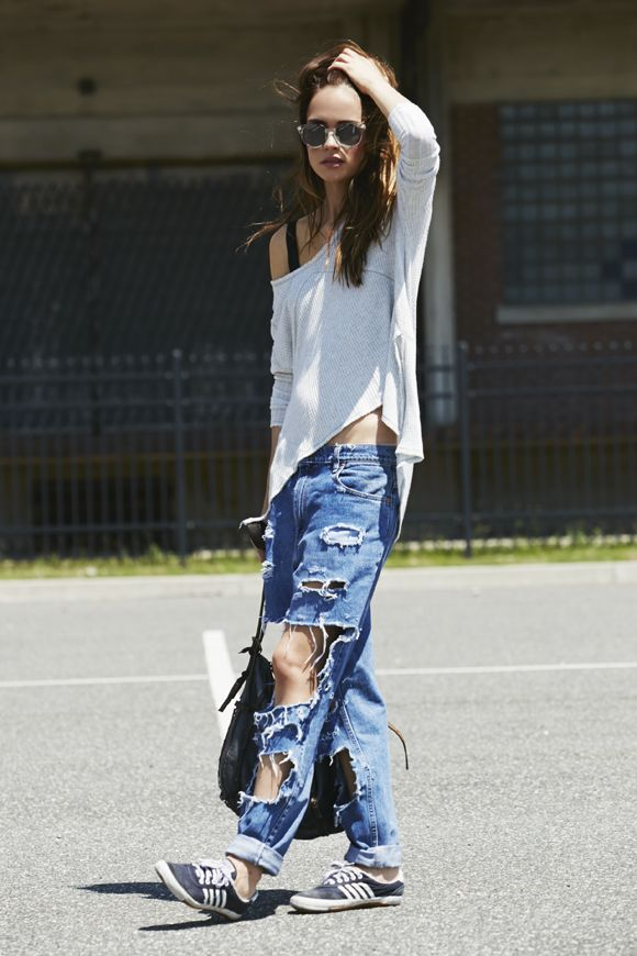 25  best ideas about Extreme ripped jeans on Pinterest | Ripped ...