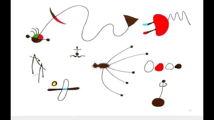 Ojos y estrellas... Un cuento surrealista sobre Joan Miró