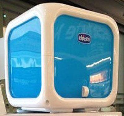 Umidificatore Humi Relax bel design bocchetta direzionabile a 360° produce vapore privo di germi entro 4 minuti. Predisposto anche per diffondere oli essenziali!