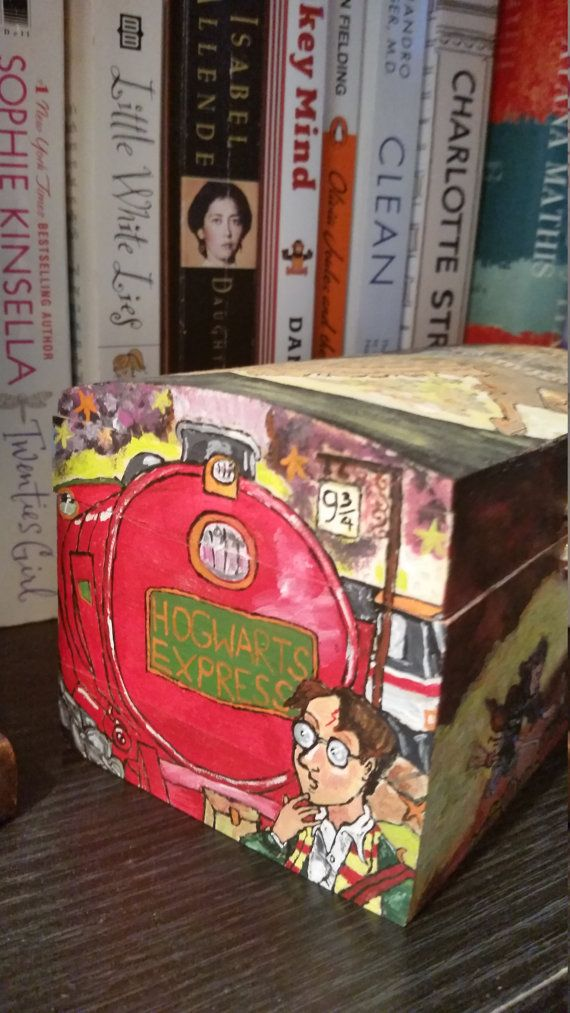 Check out this item in my Etsy shop https://www.etsy.com/ca/listing/456592560/hand-painted-harry-potter-box
