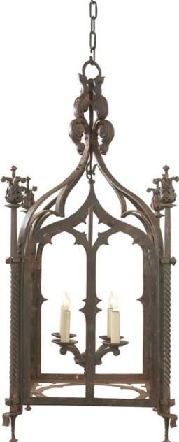visual comfort studio john rosselli furlow lantern in rusted verdis