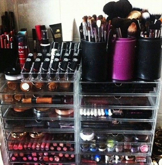Flat Iron Experts Beauty Blog: Awesome and Creative Ways To Organize Your Makeup