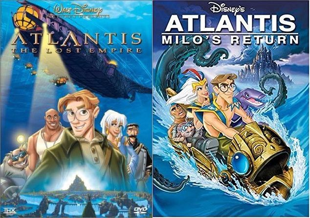Atlantis 1 & 2 (DVD)